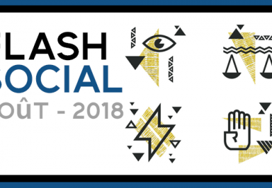 Flash Social : lois et réglementation – Août 2018