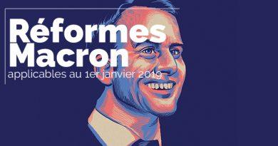 Flash spécial : Les réformes Macron applicables au 1er janvier 2019