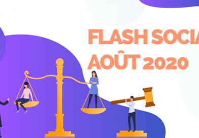 Flash Management et problèmes de société – Août 2020